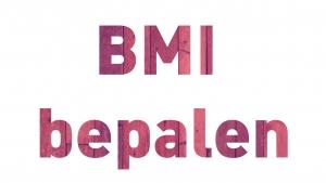mijn BMI bepalen